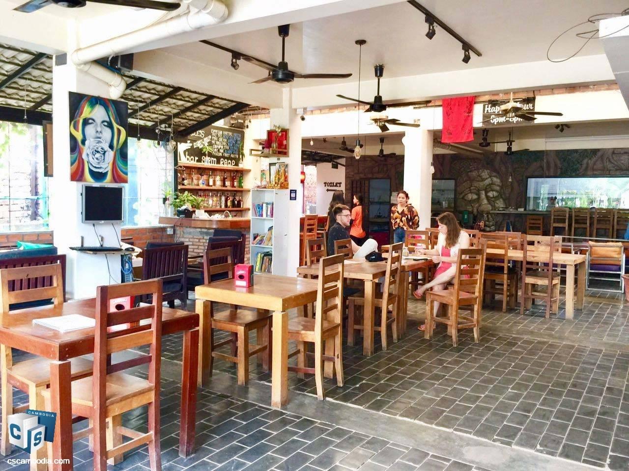 Restaurant – For Rent –Svay Dangkum – Siem Reap