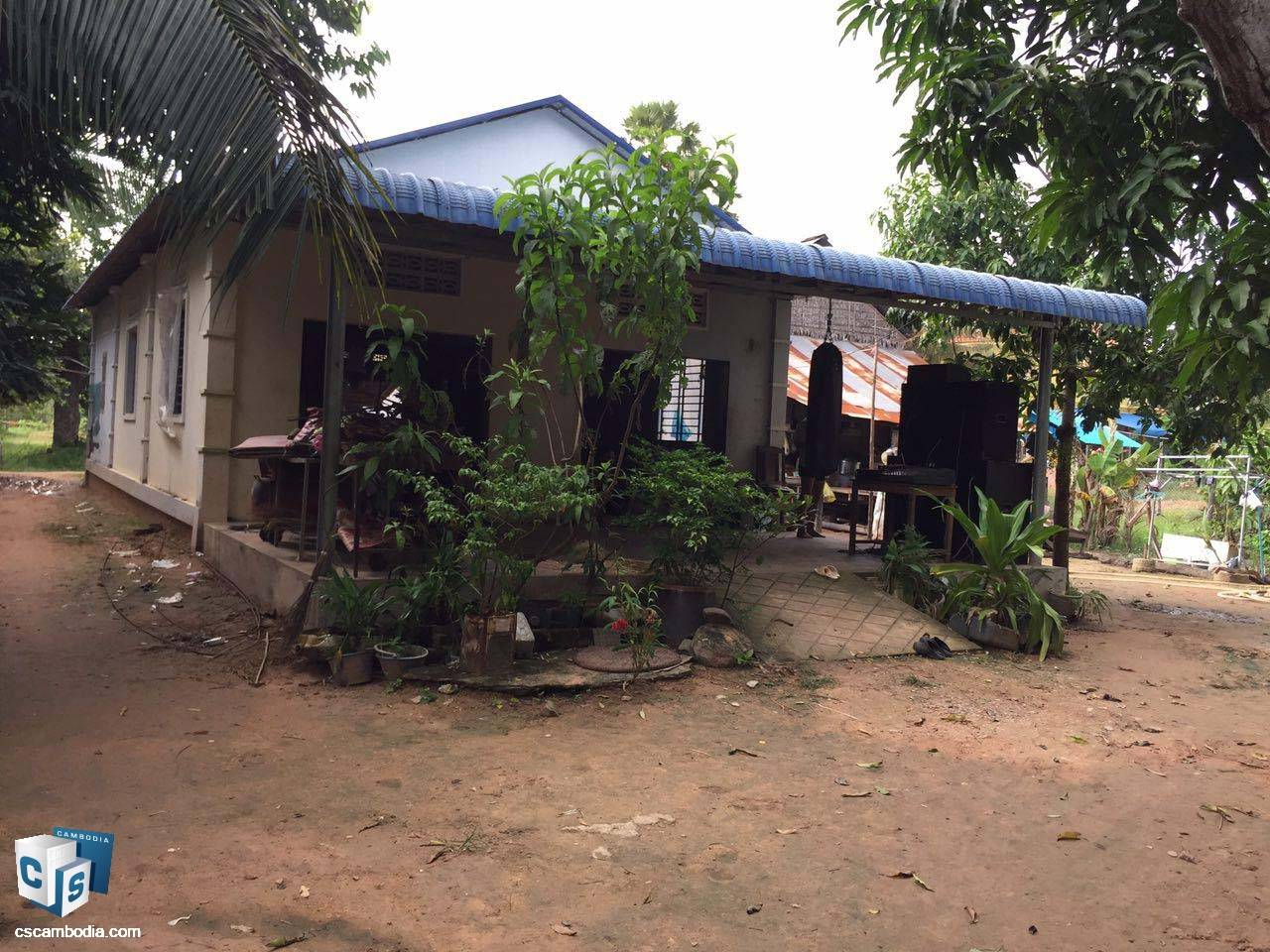 696 Sq Meters Of Land – For Sale – Sambor Commune– Siem Reap