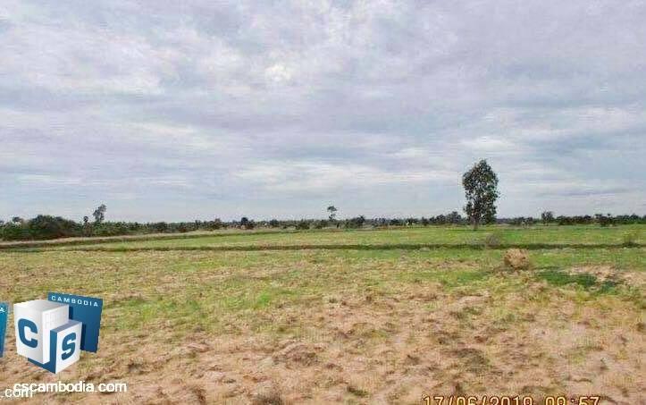 50,000 Sq Meters Of Land – For Sale – Pouk Commune– Siem Reap
