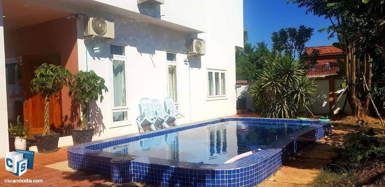 3 Bedroom House – For Rent – Svay Dangkum Commune – Siem Reap