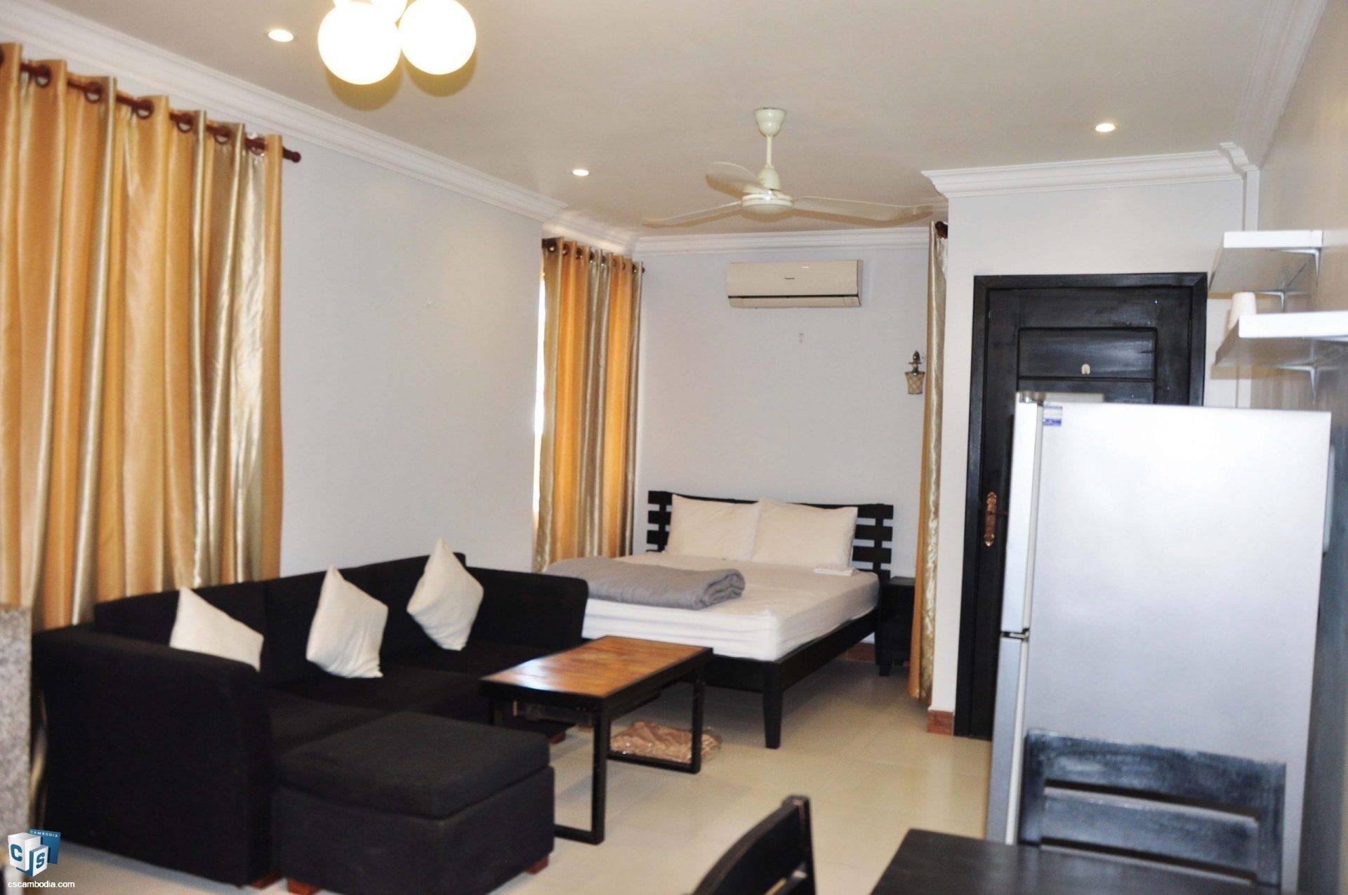Studio Apartment – For Rent- Svay Dangkom Commune – Siem Reap