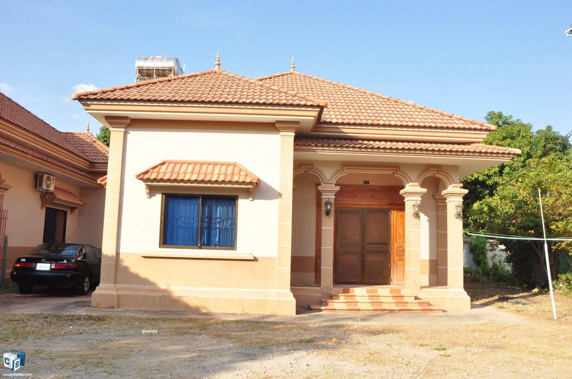 3 Bedroom House – For Rent – Svay Dangkom Commune – Siem Reap