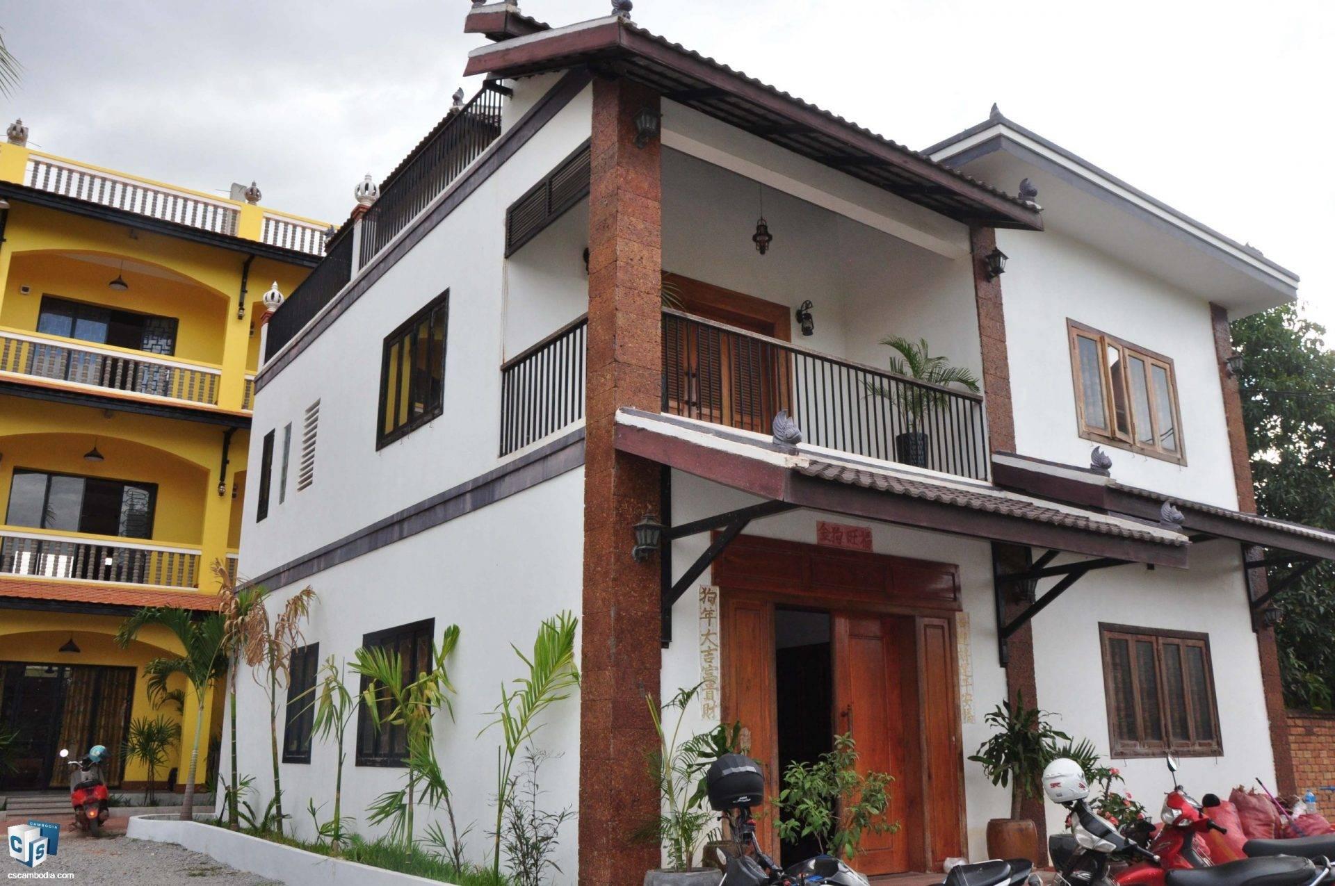 3 Bedroom House- For Rent- Sala Kamreuk Commune, Siem Reap