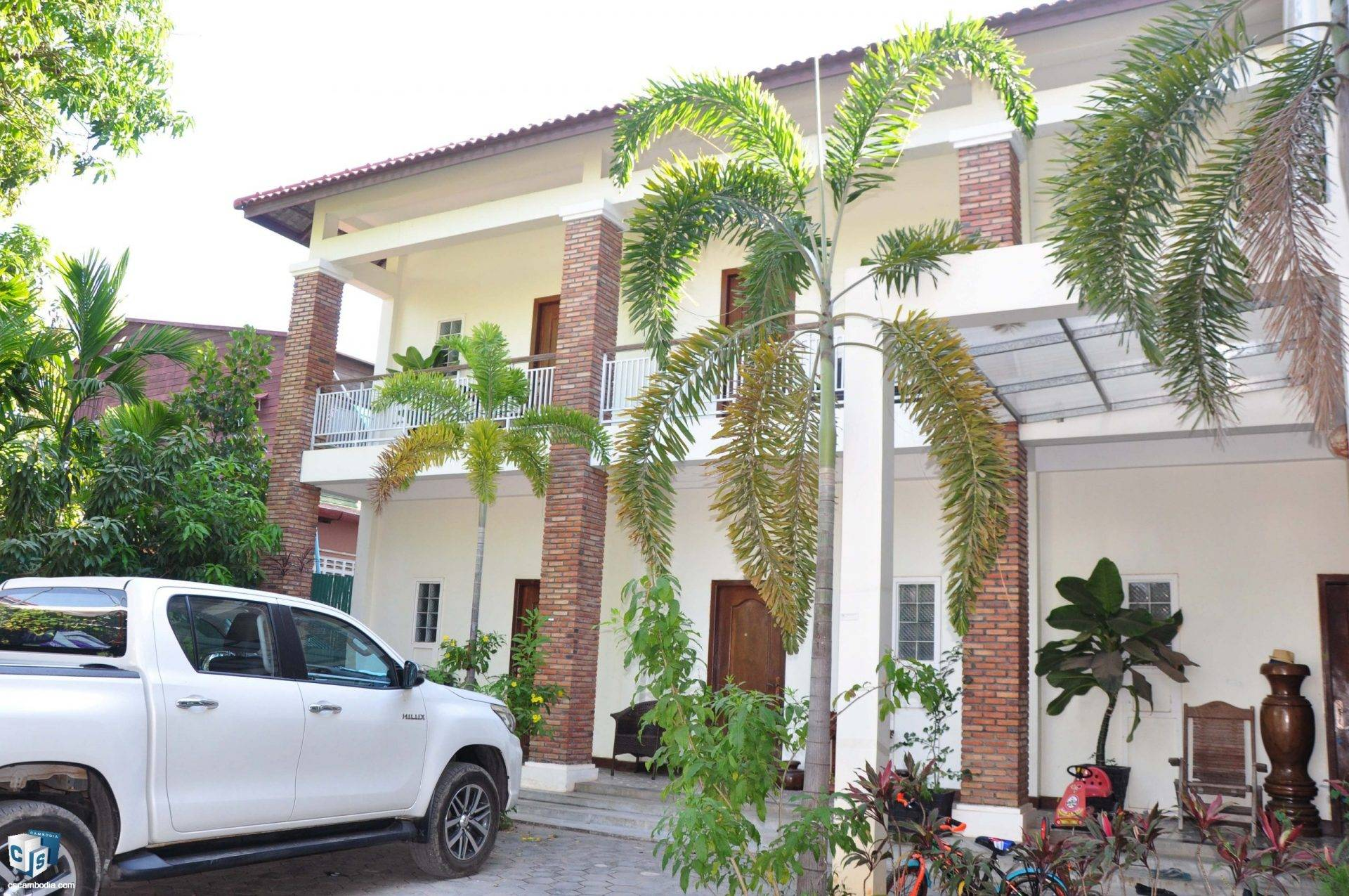 7 Unit Apartment building  – For Rent- Svay Dangkom Commune – Siem Reap