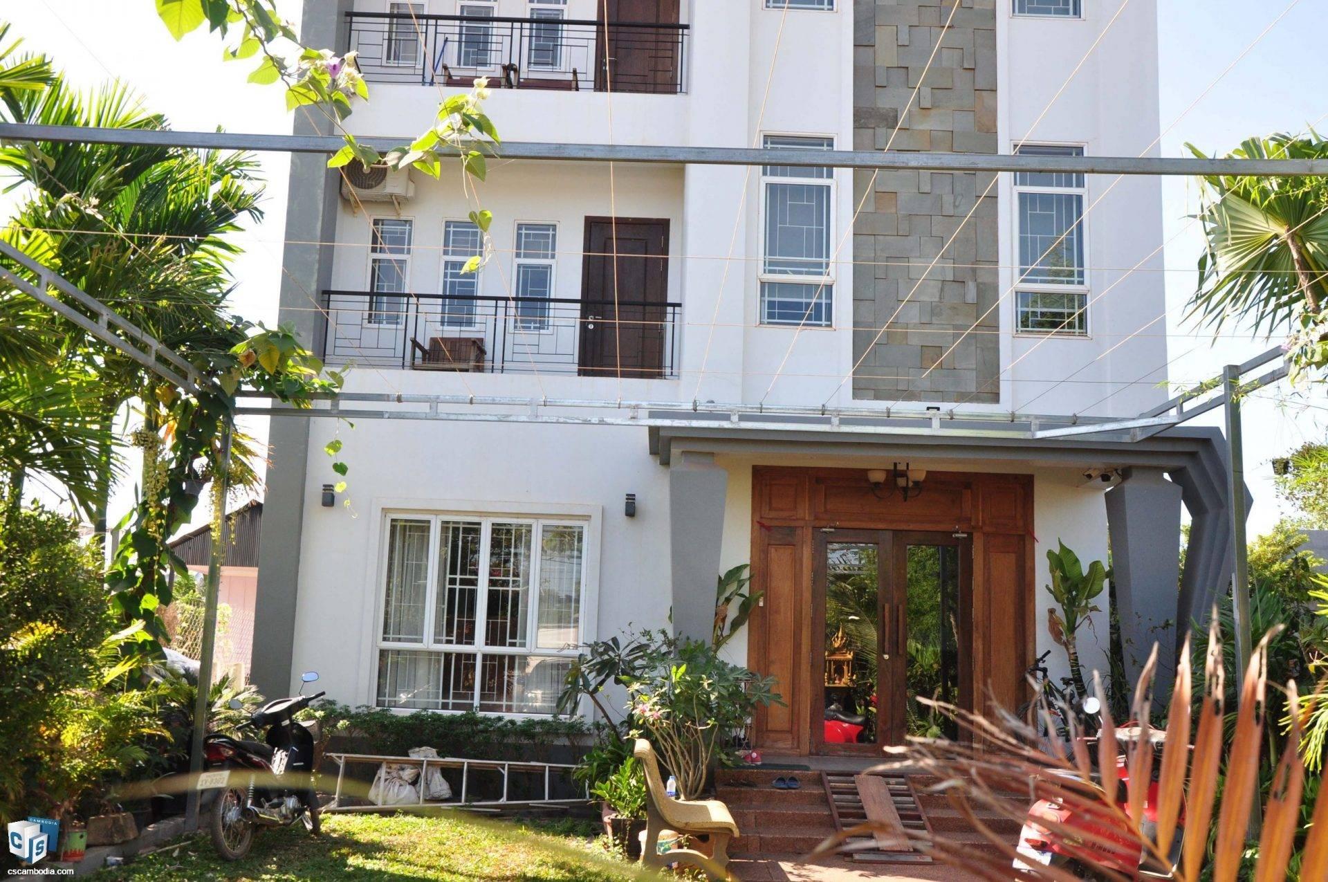 7 Unit Apartment Building – For Rent – Svay Dangkum Commune – Siem Reap