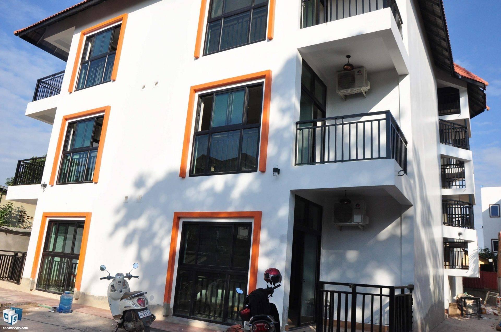 15 Unit Apartment Building – For Rent – Svay Dangkum Commune – Siem Reap