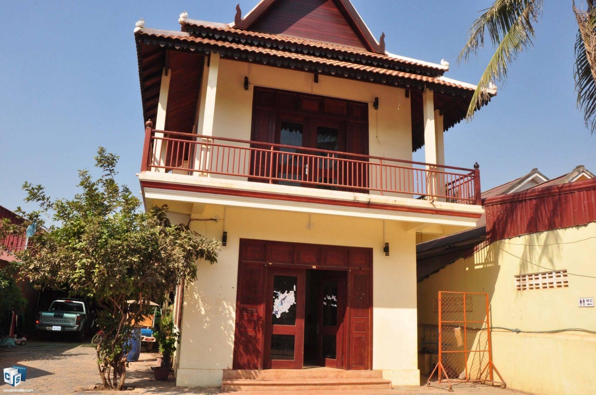 2 Bedroom House- For Rent- Sala Kamreuk Commune, Siem Reap