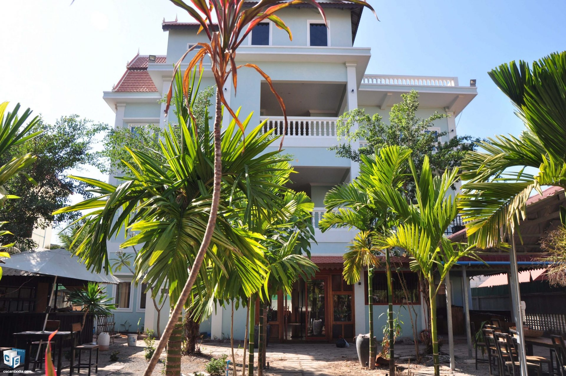 18 Room Guesthouse – For Rent – Svay Dangkum Commune – Siem Reap