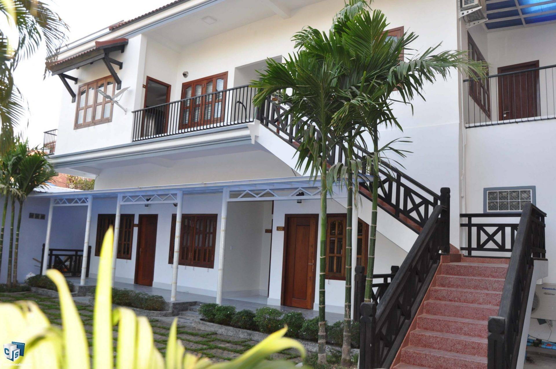 6 Unit Apartment  – For Rent- Sala Kamreuk Commune – Siem Reap
