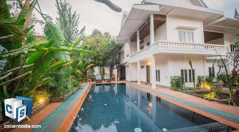 22 Room Hotel – For Rent –  Svay Dangkum Commune – Siem Reap