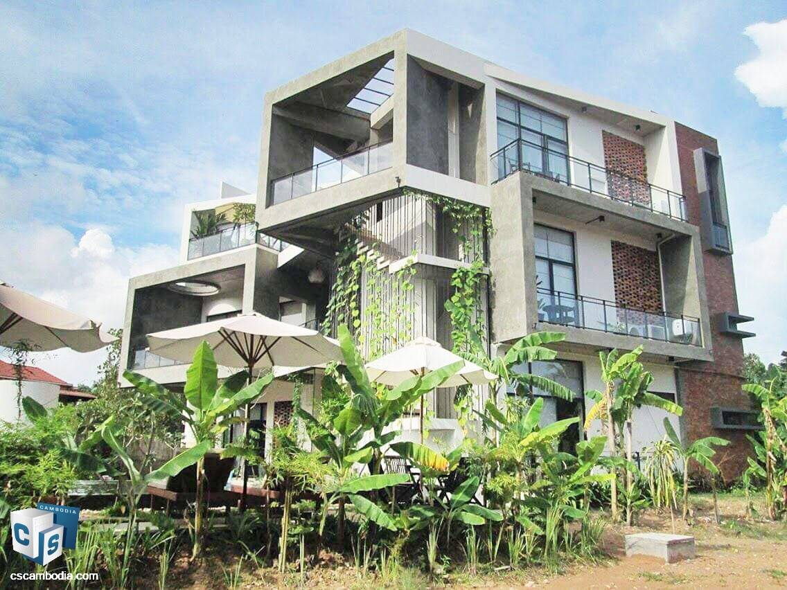 2 Bedroom Apartment – For Rent- Sala Kamreuk Commune, Siem Reap