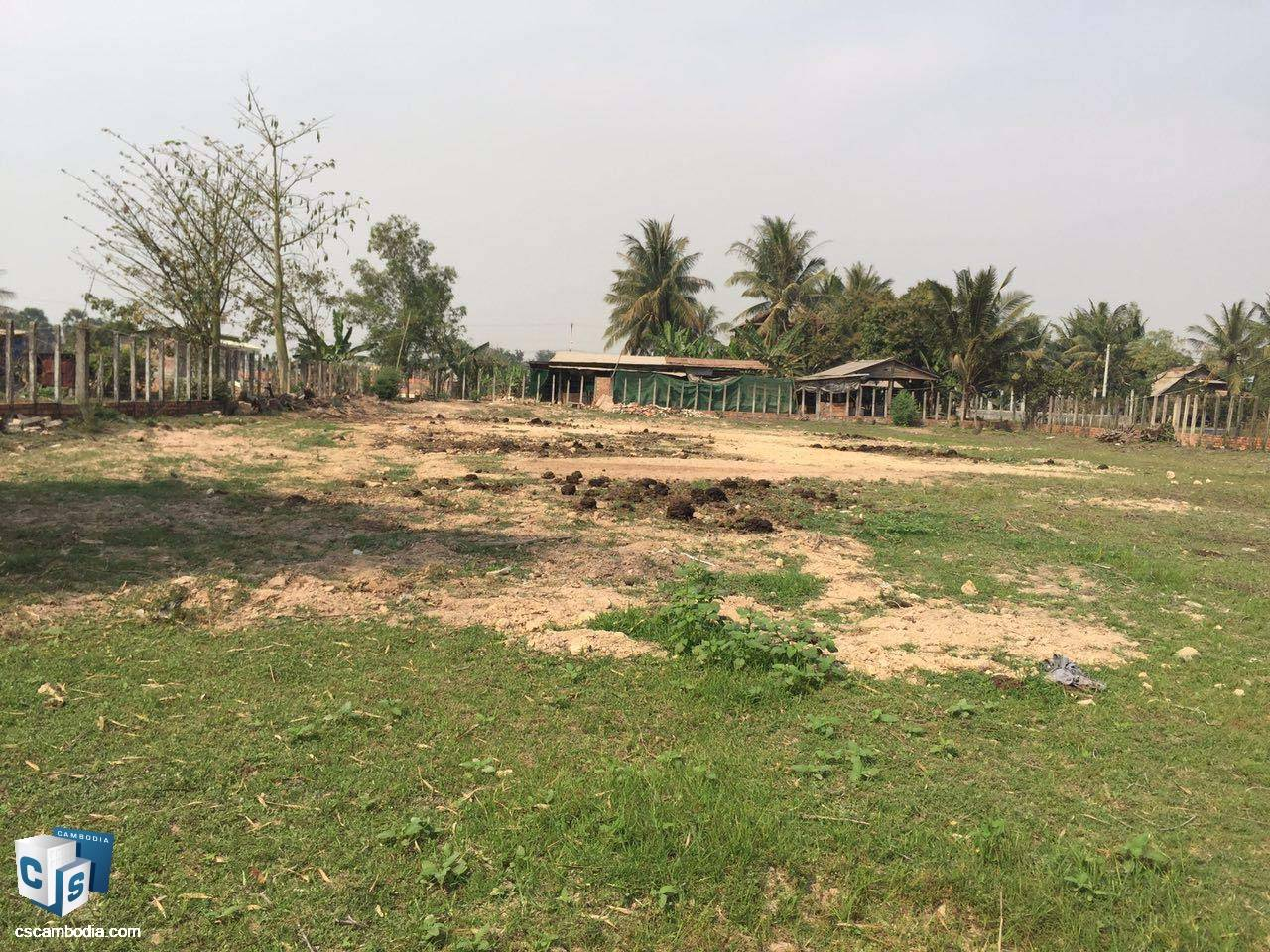 1,500 Sq Meters Of Land – For Sale – Svay Dangkum Commune– Siem Reap