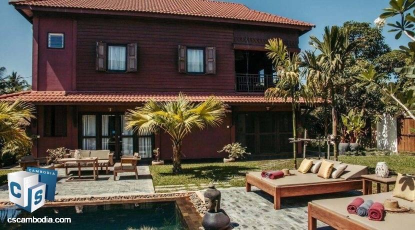 5 Bedroom House – For Sale –Sala Kamreuk Commune – Siem Reap