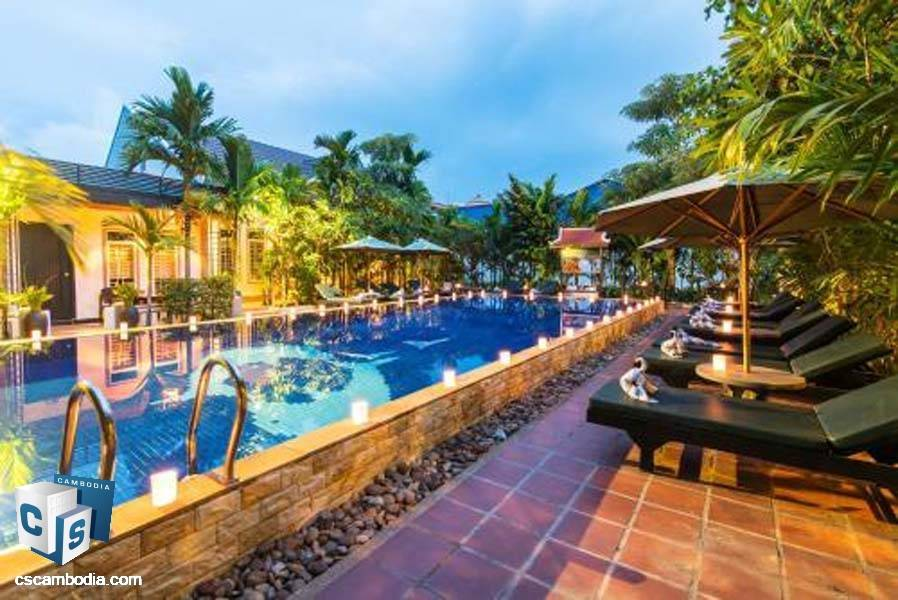 Boutique Hotel For rent in Siem Reap-Cambodia