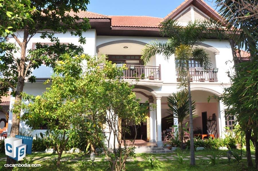 Boutique Hotel For Rent in Savy Dangkum-Siem Reap