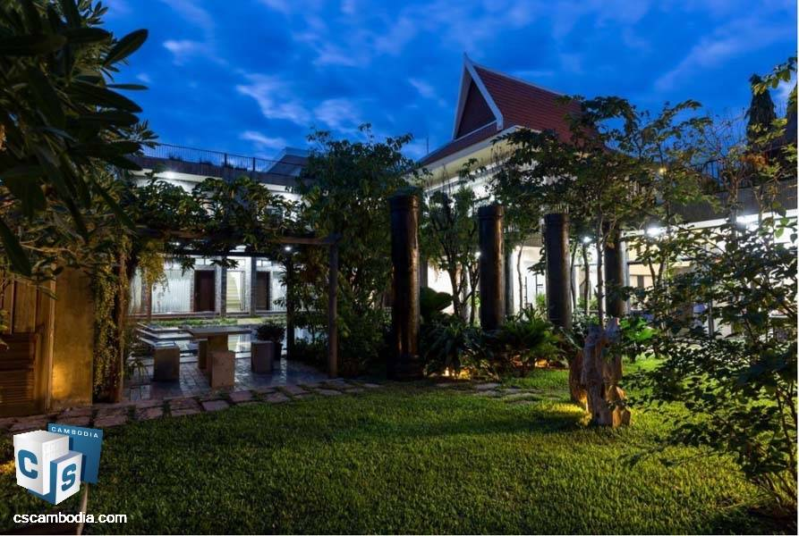 Boutique Hotel for sale in Siem Reap, Cambodia