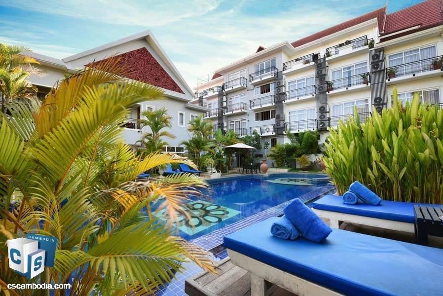 Hotel For Rent In Sla Kram-Siem Reap