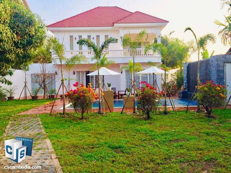Pool Villa For Rent In Svay Dangkum-Siem Reap