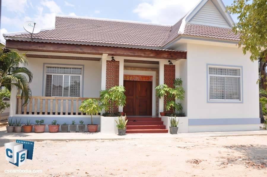 2-Bedroom House For Rent In Svay Dangkum-Siem Reap