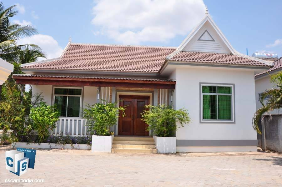 One Story House For Rent In Svay Dangkum-Siem Reap