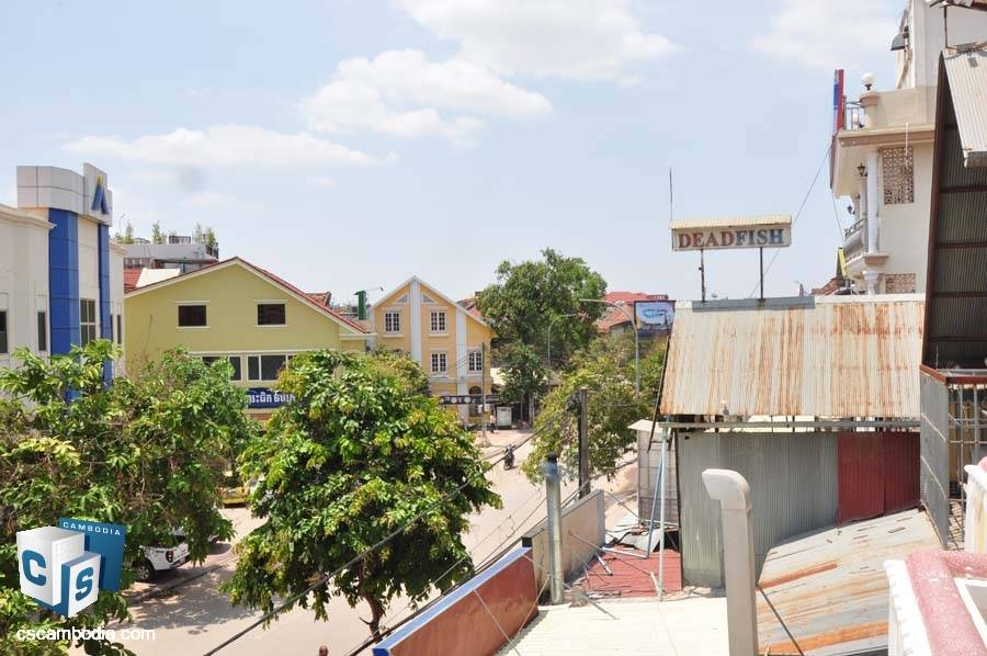 Flat House For Rent In Svay Dangkum-Siem Reap-Pub Street
