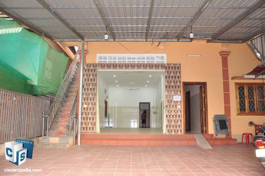 House For Rent In Tapul- Svay Dangku- Siem Reap