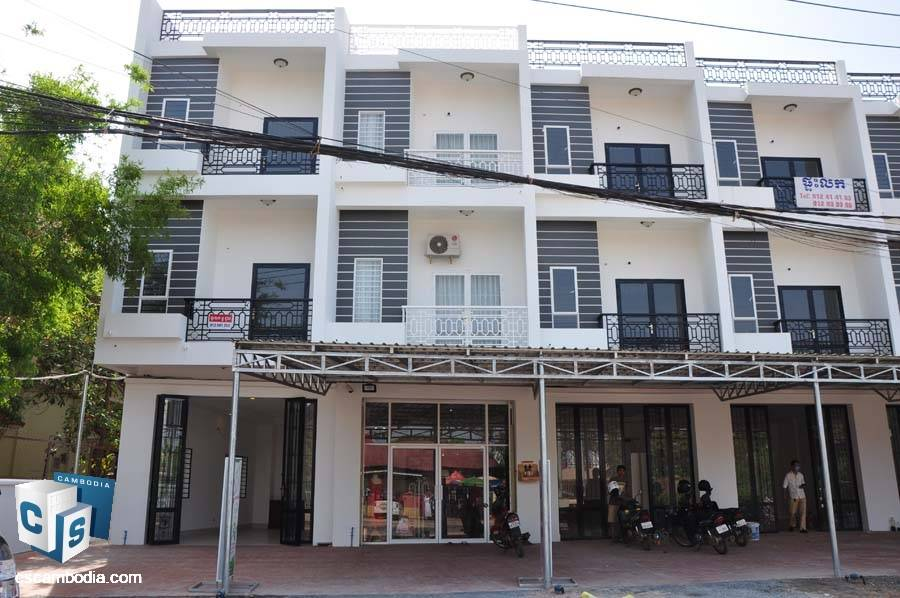 Shop House For Sale In Svay Dangkum- Siem Reap