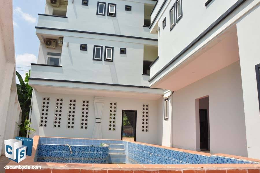 Newly Build Hotel For Rent In Sala Kamreuk-Siem Reap