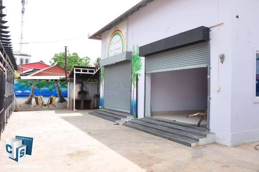 Land-House For Sale In Night Market-Siem Reap