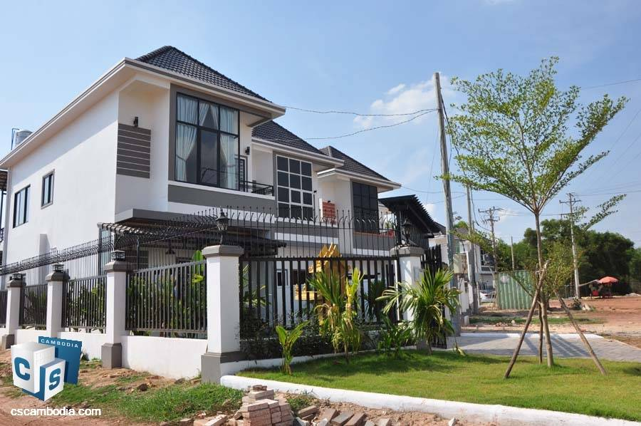 Villa For Rent In Svay Dangkom, Siem Reap