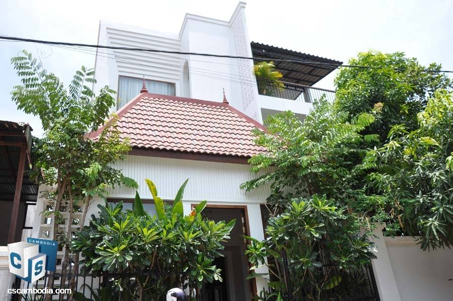 Boutique Hotel For Rent In Slo Kram-Siem Reap
