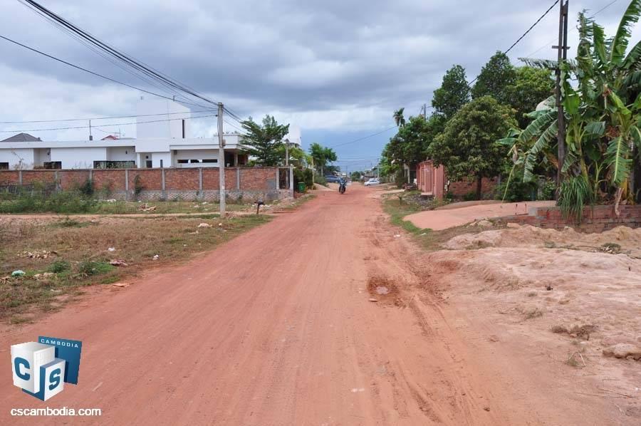 Land For Sale In Svay Dangkum-Siem Reap