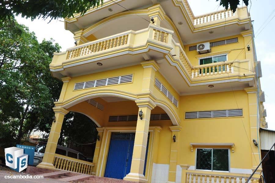 15-Bedroom House For Rent In Sala Kamreuk-Siem Reap