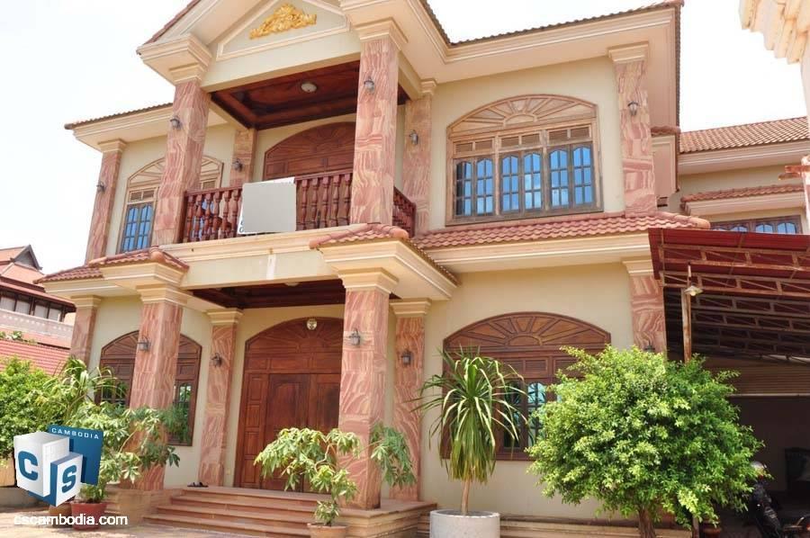 Villa For Rent In Svay Dangkum-Siem Reap