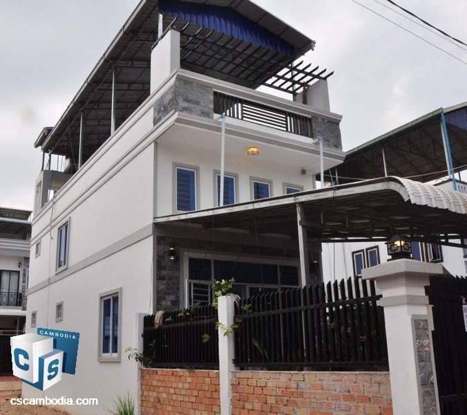 One Bedroom House For Rent In Siem Reap.