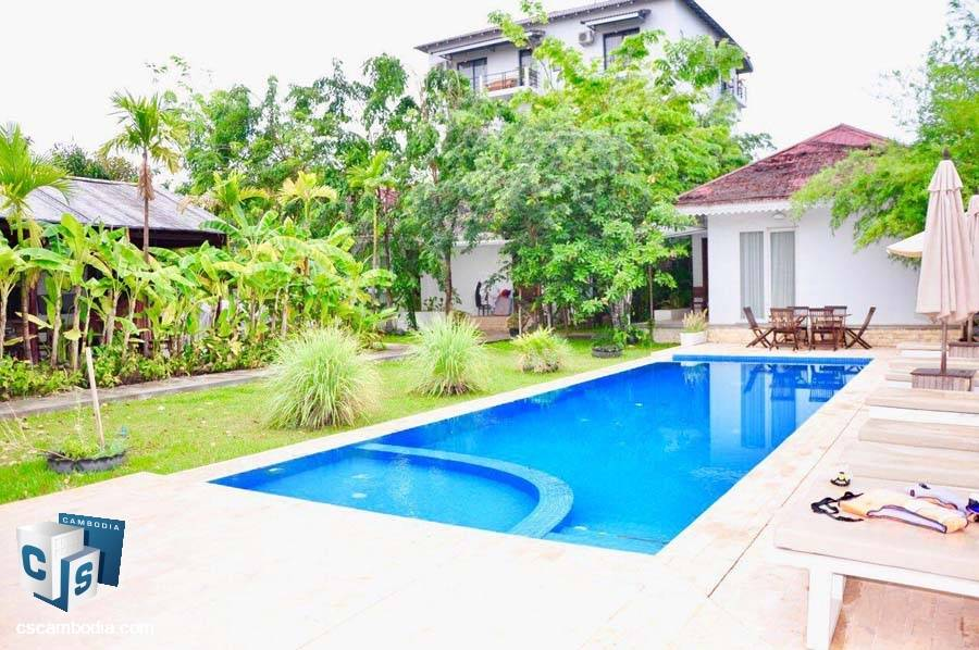 Private Villa For Rent In-Svay Dangkum- Siem Reap