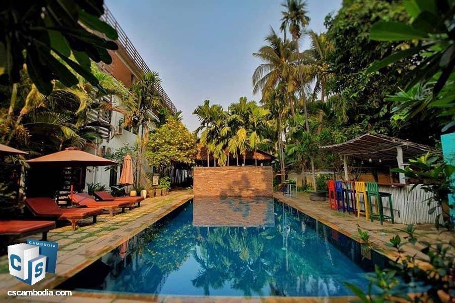 Boutique Hotel For Sale In Sla Kram-Siem Reap