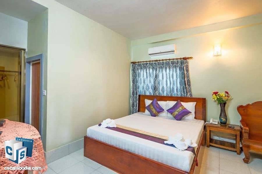 20-Bedroom Guesthouse For Sale In Svay Damgkum-Siem Reap