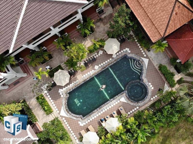 Boutique Hotel For Sale In Svay Dangkum-Siem Reap