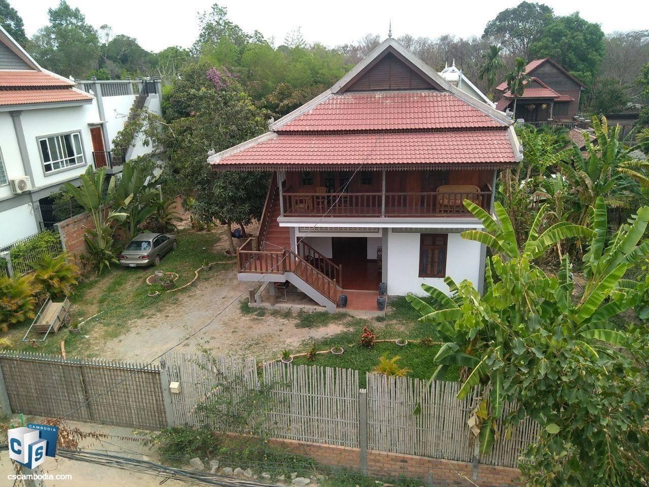 House For Rent In Sala Kanseng-Siem Reap