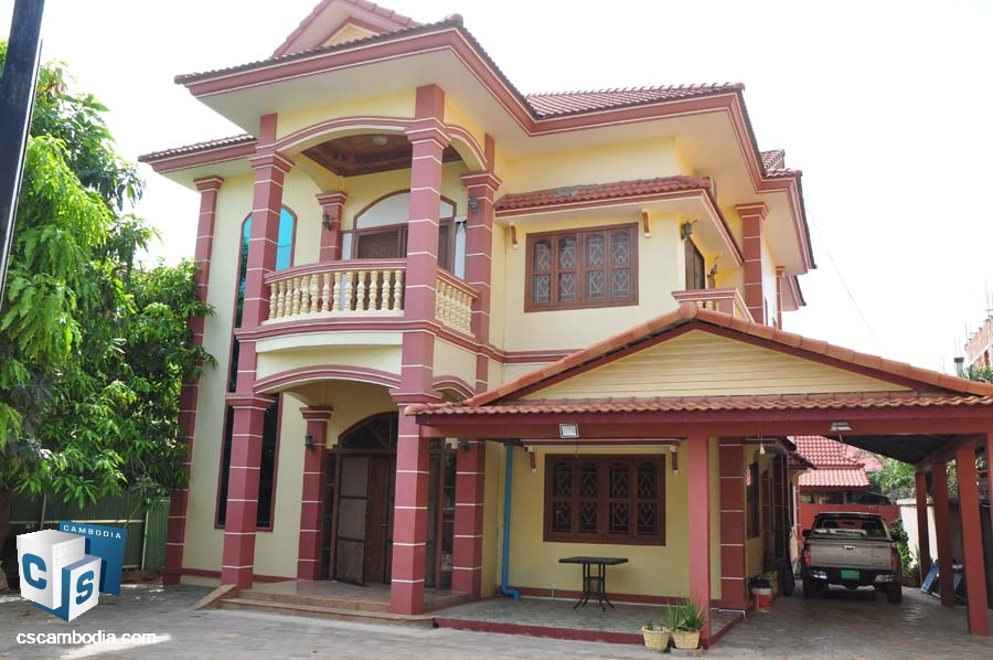 Five Bedroom House For Rent In Siem Reap