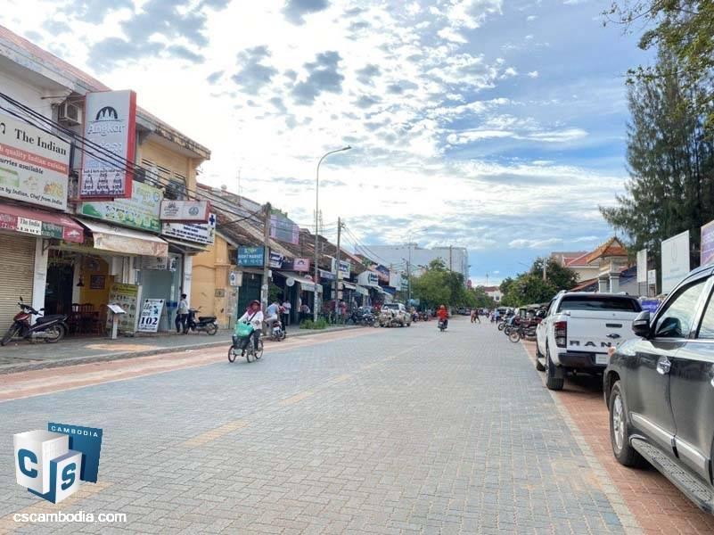 Commercial Shop House For Rent In Old maket- Pub street