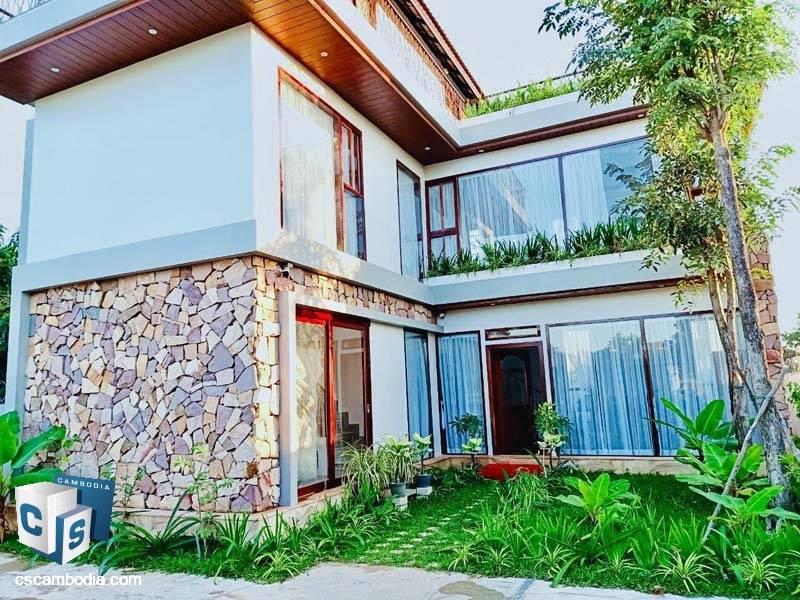 Modern Villa For Sale In Chreav-Siem Reap