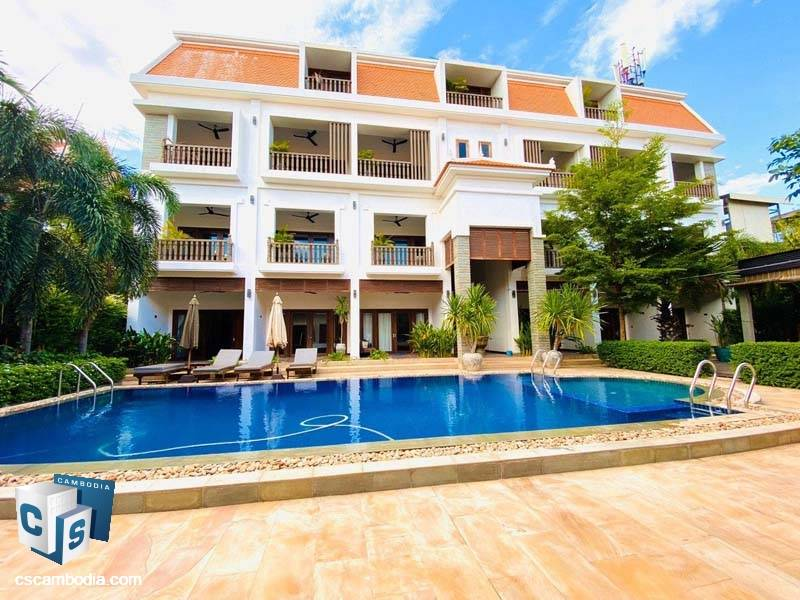 Hotel For Rent In Svay Dangkum-Siem Reap
