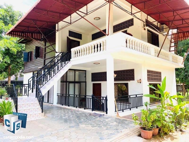 House For Rent In sala Kamreuk – Siem Reap