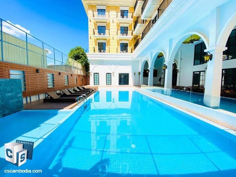 Hotel For Rent In Svay Dangkom-Siem Reap