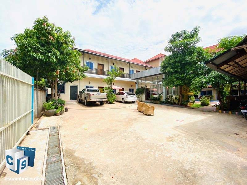Guest House For Sale in Svay Dangkum – Siem Reap
