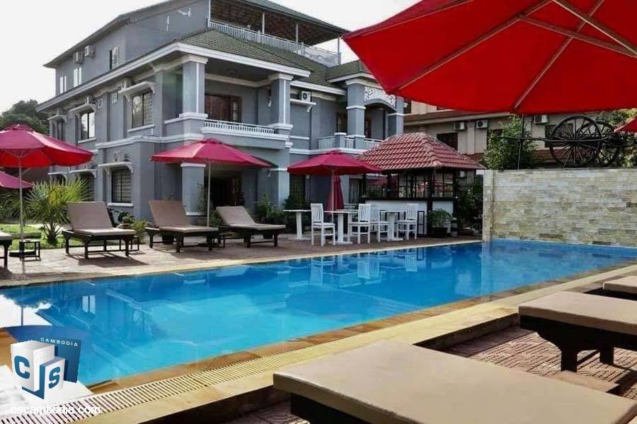 Boutique Hotel For Sale In Sala Kamreuk-Siem Reap