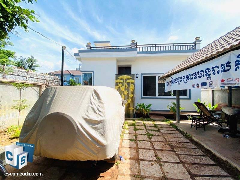 House For Sale In Chreav – Siem Reap