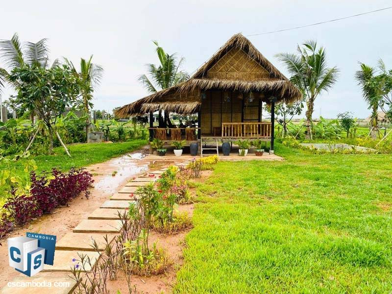 House For Sale In Sra Ngae -Siem Reap